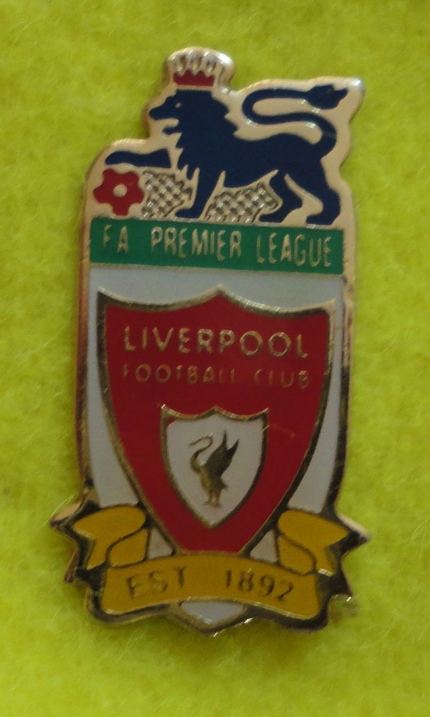 Liverpool (Premier League) Enamel Pin Badge