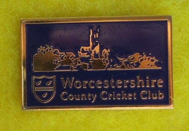 Worcestershire CCC Enamel Pin Badge